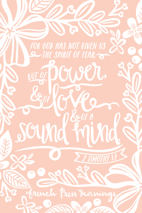 Encouraging Wednesdays 2 Timothy 17 Hello Joy Co